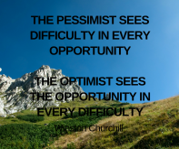 the pessimist sees difficulty in every opportunityBare Organics