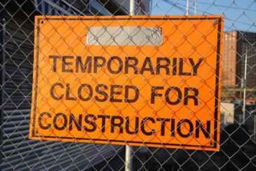 temp closed